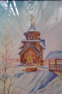 храм рисунок